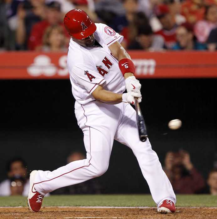 Albert Pujols is leading the charge for First Place with a Two Home-Run Game.