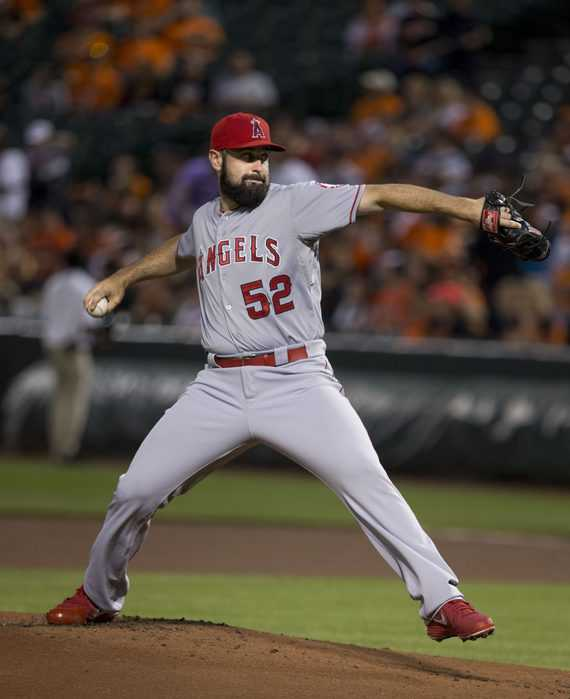 Angels Pitcher Matt Shoemaker is making history