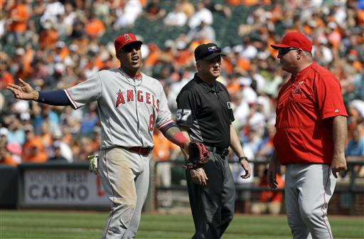 Angels' Yunel Escobar gets ejected for the third time this season